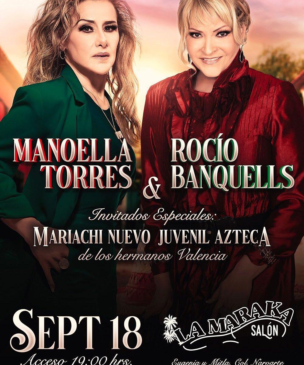 MANUELA TORRES Y ROCIO BANQUELLS SEPTIEMBRE 18